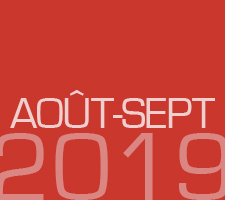 ZAPPING AOUT-SEPTEMBRE 2019