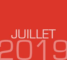 ZAPPING DE JUILLET 2019