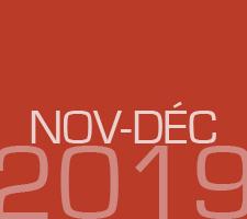 ZAPPING DE NOVEMBRE DECEMBRE 2019