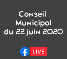 CONSEIL MUNICIPAL DU 22 JUIN 2020 EN FB LIVE