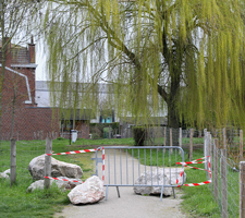 Fermeture des plaines de jeux, des parcs et jardins publics