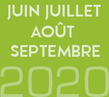 ZAPPING DE JUIN JUILLET AOÛT SEPTEMBRE 2020