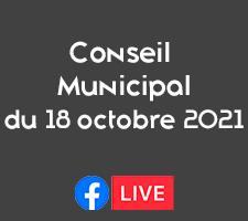 REUNION DU CONSEIL MUNICIPAL DU 18 OCTOBRE 2021