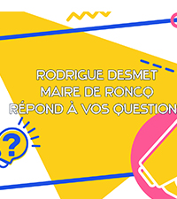 #1 QUESTION/RÉPONSE : Rodrigue Desmet Maire de Roncq