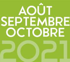 ZAPPING AOUT/SEPTEMBRE/OCTOBRE 2021
