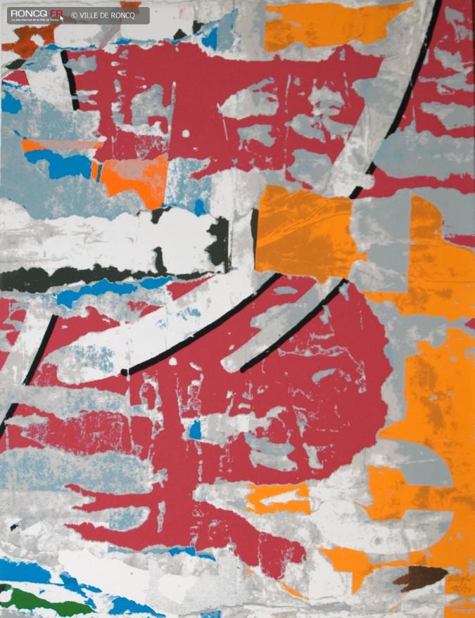 Décentralisation 01 par Jacques Villeglé