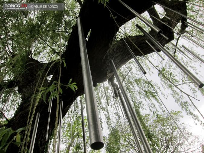 2019 - saule carillon installation